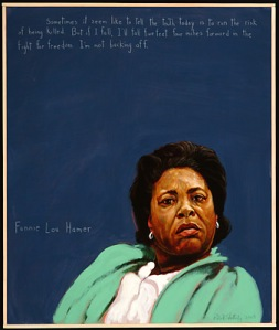 Fannie Lou Hamer Painting