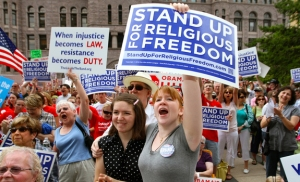 Protest in support of Religious Freedom