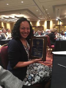 Prof. Flores wins Theology Award
